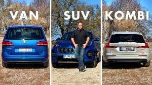 欧洲人最喜欢旅行车?看德国人评完3种车型后怎么说