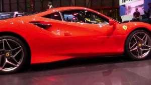 法拉利 F8 Tributo 外观和内部展示