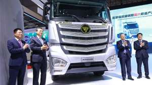 【车现场】福田汽车超级卡车上海车展重磅发布