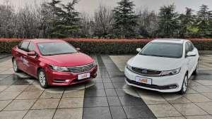 对比试驾:十万级家轿,荣威i6、帝豪GL到底怎么选?
