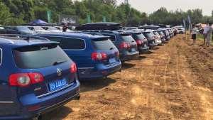 国内没有汽车文化?但这次却看到几十辆R36排排站!