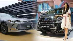 车展体验25万实力B+级车亚洲龙/顶级保姆车威尔法