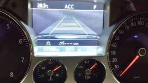 全国第一台大众辉腾升级自适应巡航ACC路试低调又安全