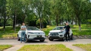 热销纯电SUV对比评测,吉利帝豪GSe VS 比亚迪元EV