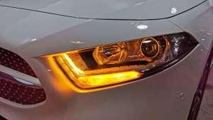 南京改灯丨奔驰新款A180大灯升级LED双光透镜