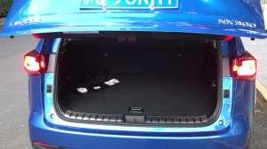 实拍:雷克萨斯NX300后备箱空间,中规中矩配置