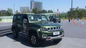 驴哥试驾场地玩北京汽车BJ40都市猎人版,舒适性较强