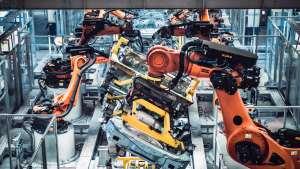 领克张家口工厂焊装车间,原来领克汽车都是这样造出来的