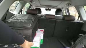 抢鲜看:全新一代瑞虎8后备箱空间