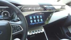 福特首款紧凑级纯电SUV领界EV内饰品评