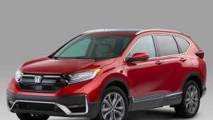 2020款本田CR-V亮相北美 造型更新燃油经济