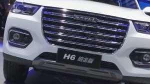 长城展台群星闪耀,哈弗H6铂金版成都车展上市