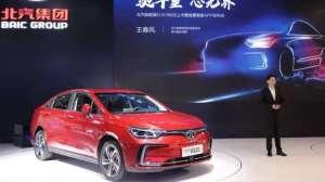 【2019成都国际车展】北汽集团上新!EU5R600售价15.98万起