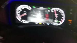 奔驰S450改装自动夜视系统效果
