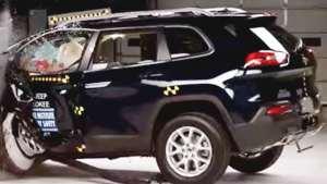 颠覆印象!JEEP家用SUV自由光碰撞视频出炉!