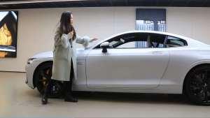 虽是双开门,但4585mm长的GT轿跑极星1凭短前悬显修长