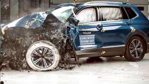 大众途观福特锐际碰撞测试对比,买哪个自己看!