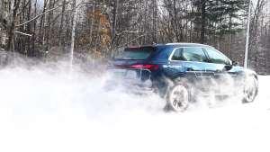 雪地试驾奥迪e-tron:强大的电控系统,带来稳定的雪地越野能力
