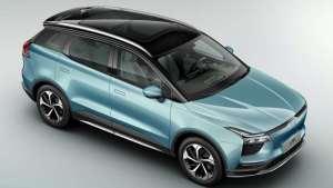 电动GO   定位为A 级中高端智能纯电SUV爱驰U5
