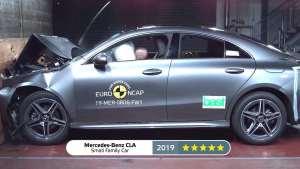 欧洲NCAP新车碰撞测试 2019年度同类碰撞5星汽车