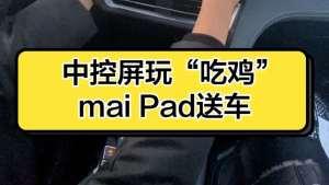 """中控屏玩""""吃鸡""""mai Pad送车"""