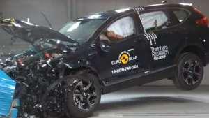 本田CR-V和雷克萨斯UX碰撞对比来了!你猜谁更安全?