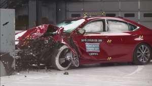 大众CC和雷克萨斯ES碰撞测试结果出炉,轿车你会如何选?