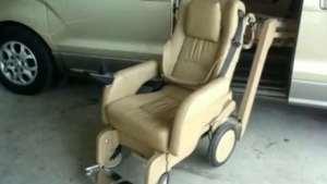 gl8奥德赛艾力绅改装福祉座椅升降旋转轮椅