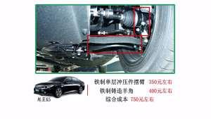 小强实验室:20万元轿车被偷换前悬架材质,连续刹车风险加大!