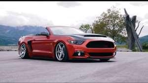 美式张扬!福特Mustang GT敞篷版改装鉴赏