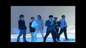 东风本田艾力绅发布会歌舞表演