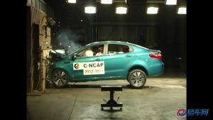 东风悦达起亚K2 C-NCAP碰撞测试获五星