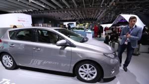 2012巴黎车展 全新丰田Auris亮相