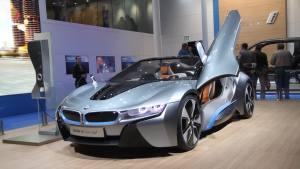 超完美流线 宝马i8概念车激情登台