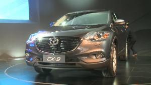 2012广州车展 马自达CX-9中国首发