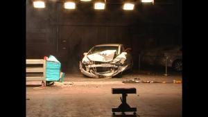 思铭C-NCAP安全测试 40%偏置碰撞