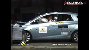 五星安全电动车 雷诺ZOE欧洲碰撞测试