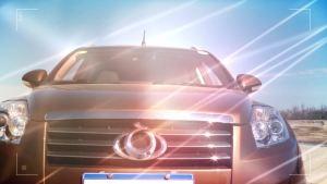 易车体验 试驾吉利全球鹰GX7外观篇