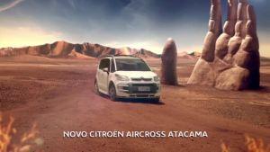 驰聘三维沙地!雪铁龙C4 Aircross广告