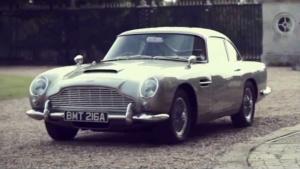 与传奇相拥 007的挚爱阿斯顿马丁DB5