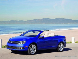 蓝色经典 进口大众EOS敞篷跑车