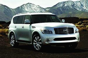 外观豪华大气 进口英菲尼迪QX全尺寸SUV