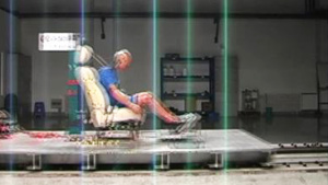 长安睿骋 C-NCAP安全测试座椅鞭打碰撞