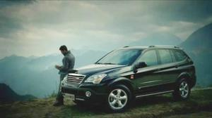 跨领域专业SUV 荣威W5上市广告
