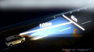 纳智捷大7MPV 高感光夜视辅助系统
