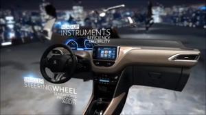 新标致2008 城市SUV全车细节展示