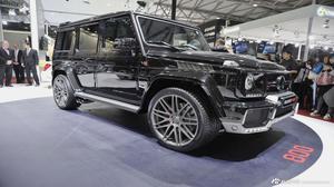 强悍SUV巴博斯G800 豪华外观内容展示