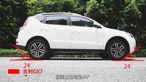 吉利GX7对战瑞虎5 国产SUV通过性较量