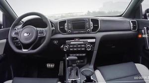 全新起亚Sportage 配备多功能方向盘