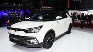 2016日内瓦车展 双龙XLV首发亮相